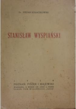 Stanisław Wyspiański, 1923r.