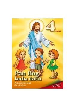 Religia 4-latki podręcznik Pan Bóg kocha dzieci