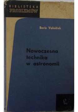 Nowoczesna technika w astronomii