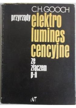 Przyrządy elektroluminescencyjne  ze złączem p-n