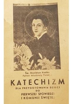 Katechizm dla przygotowanie dzieci do pierwszej spowiedzi i komunii świętej, 1932r., miniatura