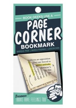 Page Corner - zakładka narożnikowa Geeks