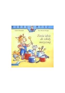 Mądra mysz - Zuzia idzie do szkoły muzycznej