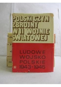 Polski czyn zbrojny w II wojnie światowej, 4 książki