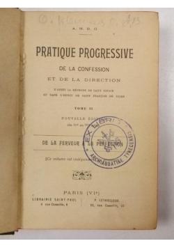 Pratique Progressive de la Confession, Tome I, 1899 r.