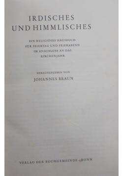 Irdisches und himmlisches, 1939r.