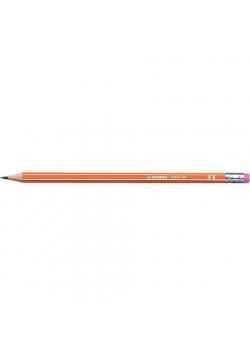 Ołówek 160 z gumką HB pomarańczowy (12szt) STABILO