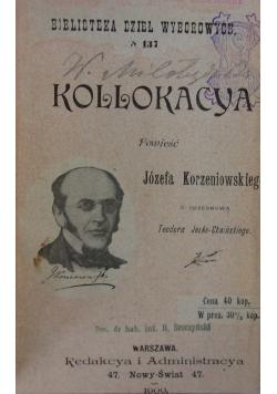 Kollokacya, 1900r.