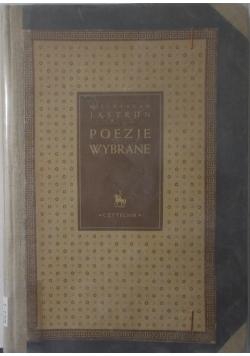 Poezje wybrane, 1947r