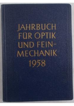 Jahbuch fur optik und feinmechanik 1958