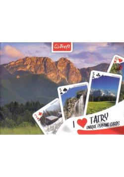 Karty - Kocham Polskę Tatry TREFL