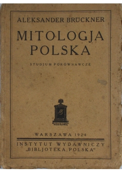 Mitologja polska, 1924 r.