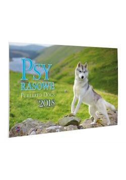 Kalendarz 2018 KA-2 Psy rasowe