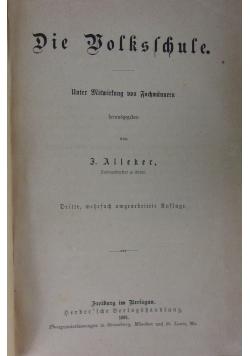 Die Bolkslchule, 1881 r.