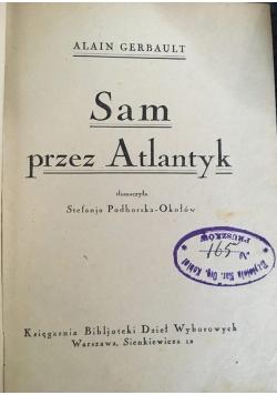 Sam przez Atlantyk, 1925 r.