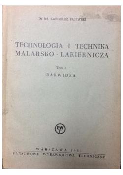 Technologia i technika malarsko-lakiernicza