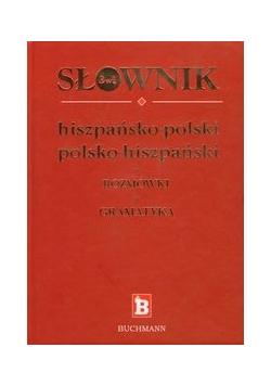 Słownik 3w1 hiszpańsko-polski polsko-hiszpański