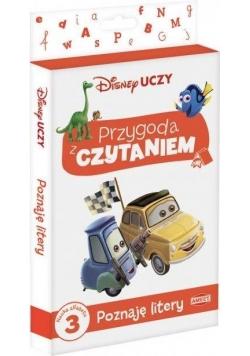 Disney uczy Filmy. Przygoda z Czytaniem. Poznaję..