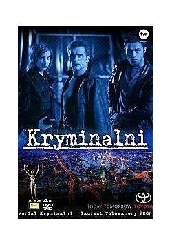 Kryminalni, 4 płyty DVD
