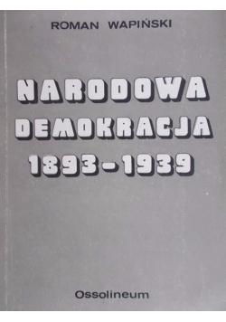 Narodowa demokracja 1893-1939