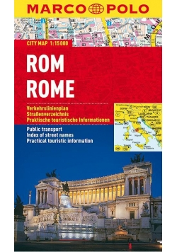 Plan Miasta Marco Polo. Rzym