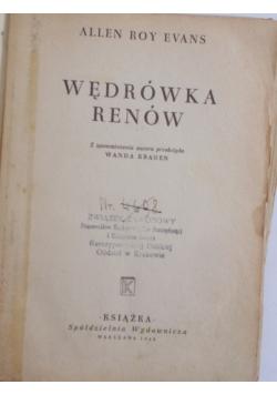 Wędrówka Renów , 1948 r.