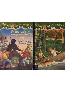 Noc wśród wojowników ninja / W dżungli nad Amazonką