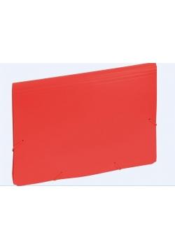 Aktówka z przekładkami 9112C czerwona EAGLE