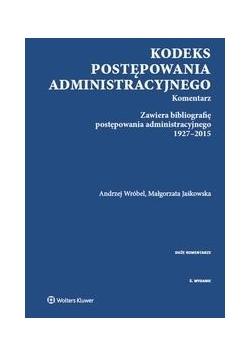 Kodeks postępowania administracyjnego Komentarz, Nowa
