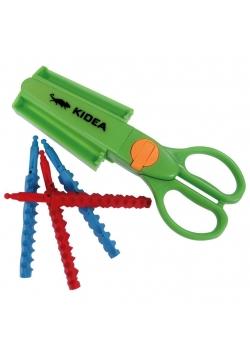 Nożyczki dekoracyjne 9 wzorów KIDEA