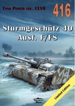 Sturmgeschutz 40 Ausf. F/F8. Tank Power vol. 416