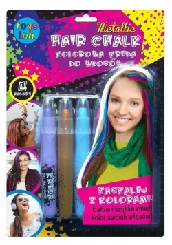 Kreda do włosów - kolory metallic STnux