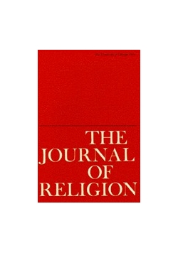 The Journal of Religion