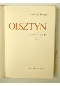 Olsztyn 1353-1945