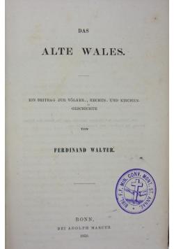 Das Alte Wales, 1859 r.