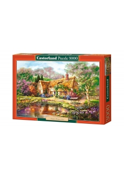 Puzzle 3000 Twilight at Woodgreen Pond CASTOR