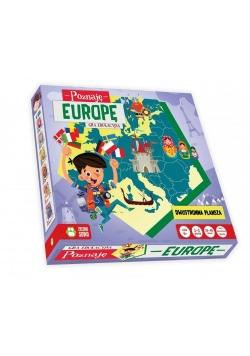 Poznaję Europę. Gra edukacyjna