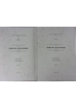 Edmundi Bojanowski, 1 i 2