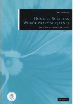 Homo et Societas Wokół pracy socjalnej Nr 2/2017