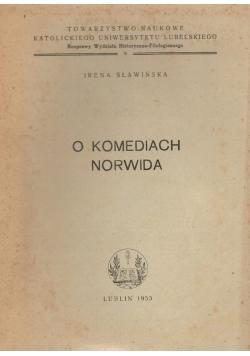 O komediach Norwida