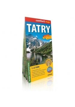 Comfort! map Tatry. Mapa turystyczna 1:27 000