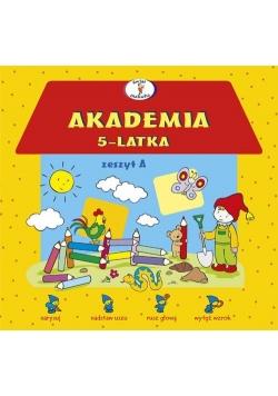 Akademia 5-latka zeszyt A