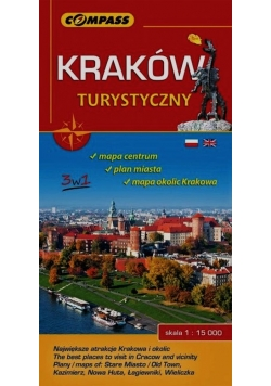 Kraków turystyczny 1:15 000