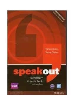 Speakout Elementary Students' Book z płytą DVD