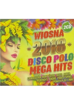 Wiosna 2018 Mega Hity Disco Polo (2CD)