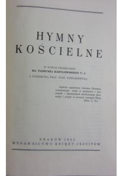 Hymny kościelne, 1932r.,