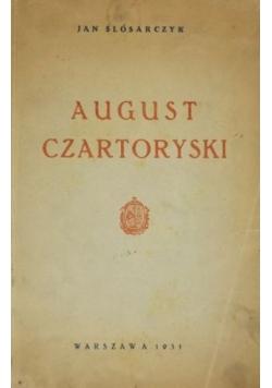 August Czartoryski, 1931 r.