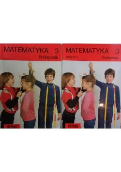 Matematyka 3, podręcznik plus ćwiczenia
