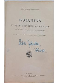Botanika, 1928 r.