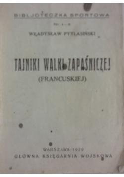Tajniki walki zapaśniczej, 1929 r.